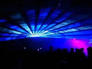 Laser - Raumshow